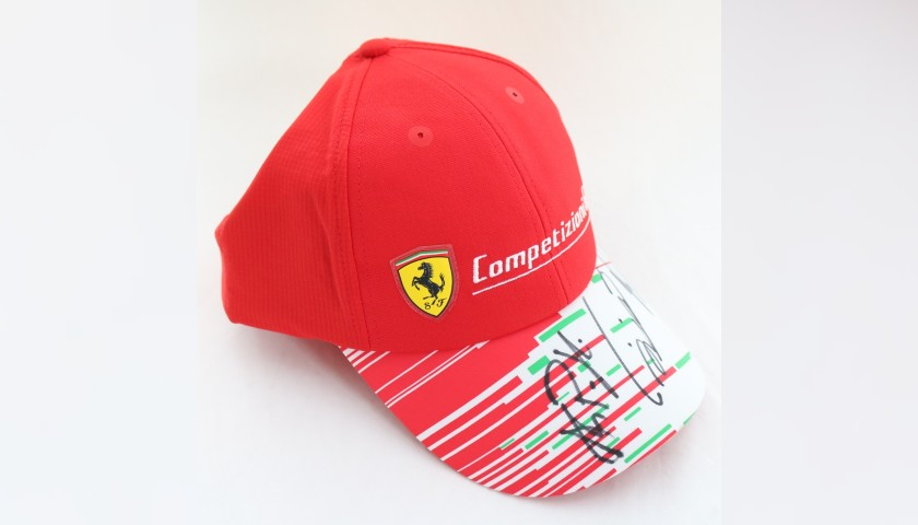 Ferrari GT Cap - Signed by the Racing Drivers