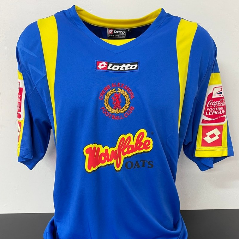McManus' Crewe Alexandra Match Shirt, 2008/09
