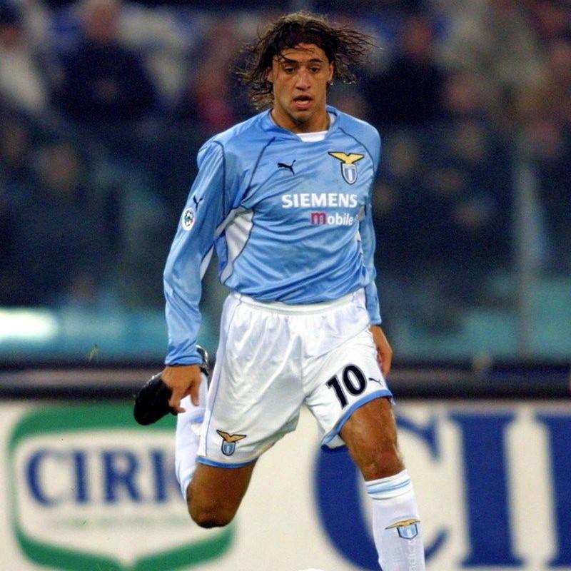 Crespo's Official Lazio Signed Shirt, 2001/02