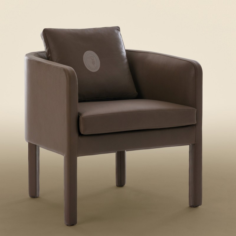 Maggy Leather Armchair by Trussardi Casa