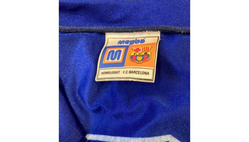 No. 6 Worn Shirt, Fiorentina-Barcelona 1982