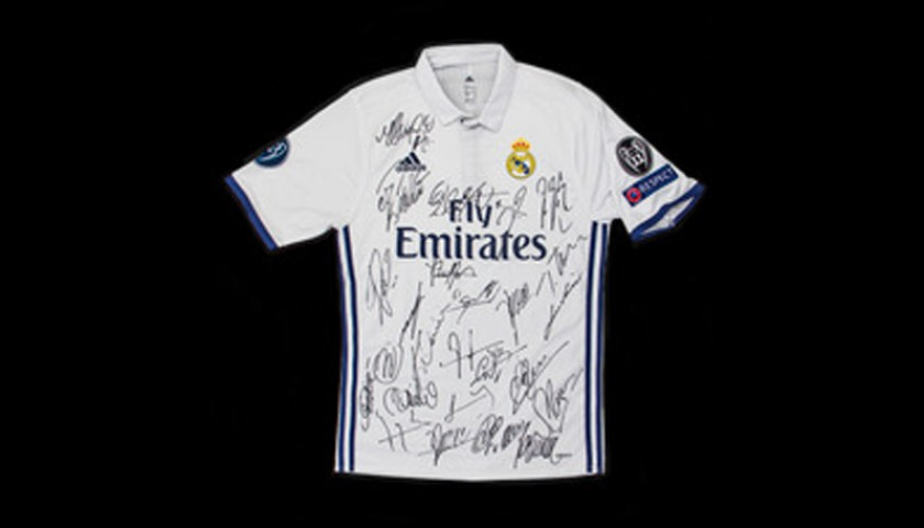 Signed Real Madrid Shirt