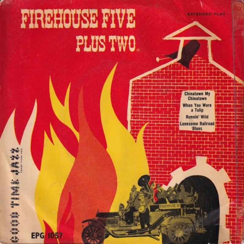 """Firehouse Five Plus Two"" Vinyl Single - Firehouse Five Plus Two, 1955"