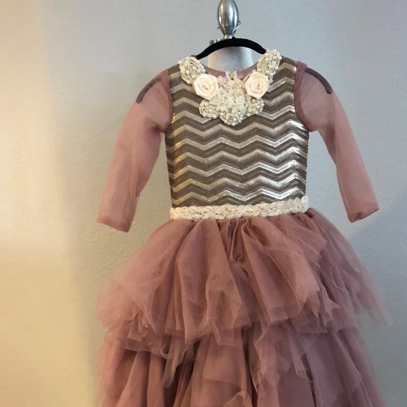 Ava Kolker Fashion Show Dress