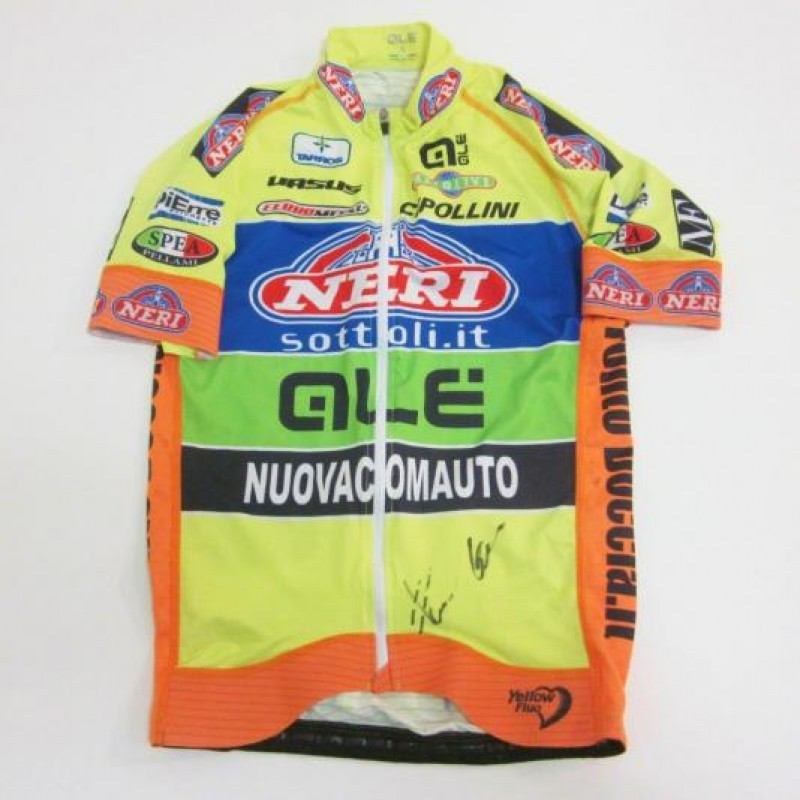 Cap, Shirt and Cycling Trousers worn by Giuseppe Fonzi - signed