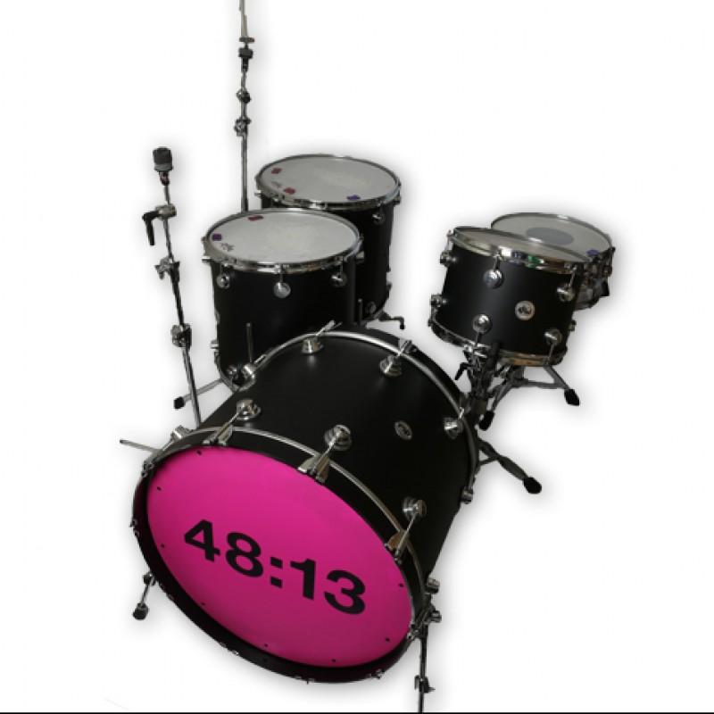 IAN MATTHEWS - Kasabian 48:13 Tour Drum Kit