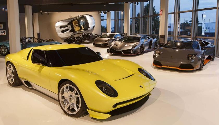 Vip Lamborghini Factory Tour Two People Charitystars
