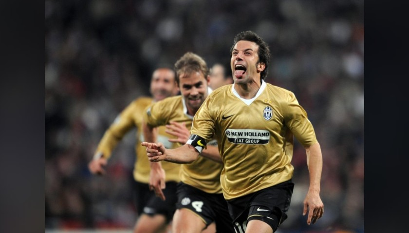 Del Piero's Juventus Signed Match Shirt, 2008/09