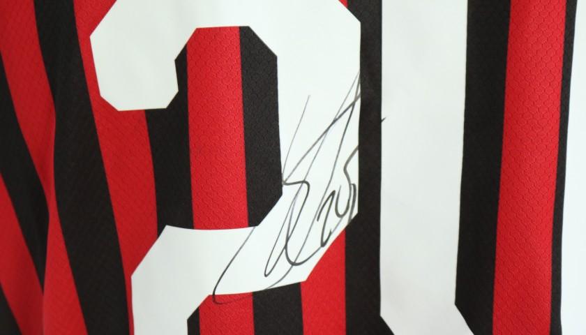 """Kjaer's Worn Shirt,  Juventus-Milan - """"Andrà Tutto Bene"""""""