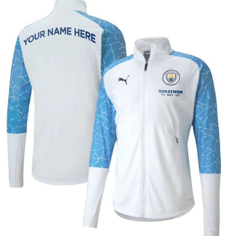 Your Name on a Man City Player's Walk-Out Jacket #5