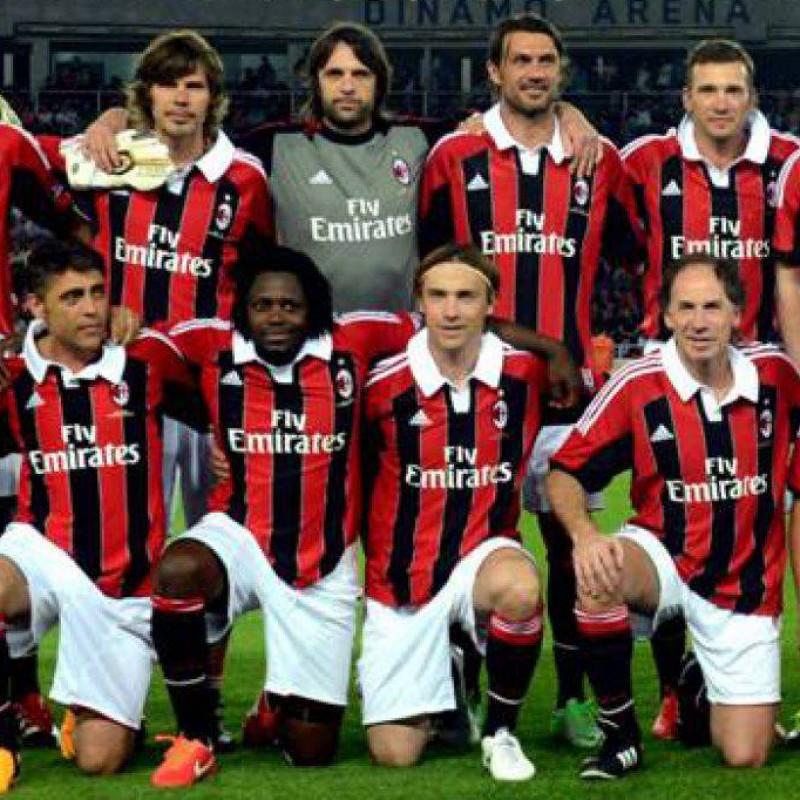 Baresi's Official Milan Signed Shirt, 2012/13