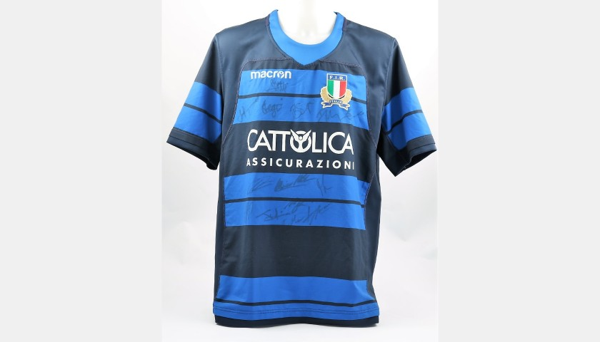 Tebaldi's Special FIR Worn Shirt - Signed by the Players