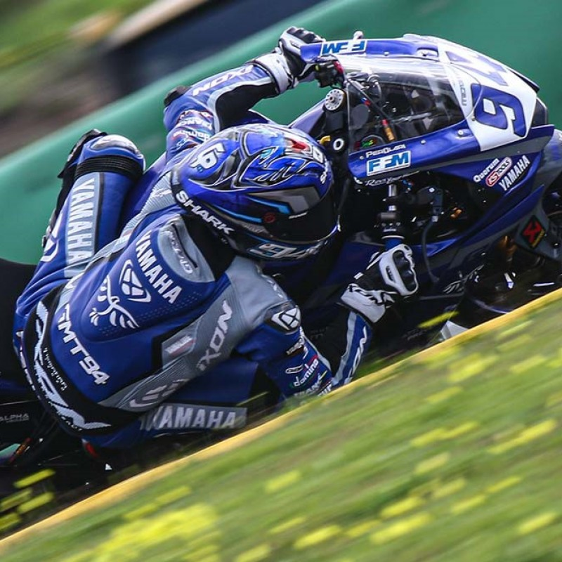 Yamaha Race Suit Worn by Corentin Perolari