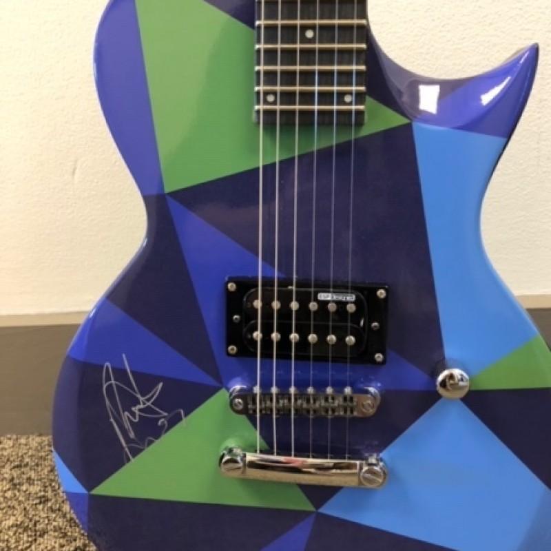 Nick Jonas Signed JetBlue Electric Guitar