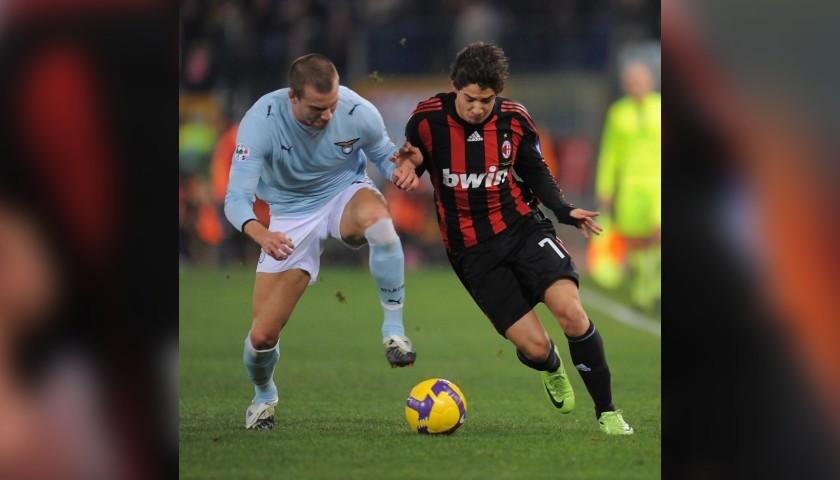 Pato's Signed Match Shirt, Lazio-Milan 2009