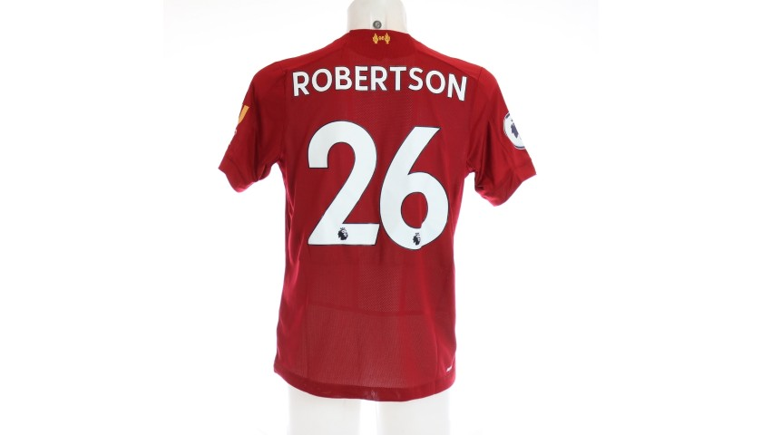 Robertson's Worn and Signed Limited Edition 19/20 Liverpool FC Shirt #2