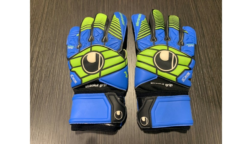 Ulhsport Goalkeeper's Gloves - Signed by Buffon and Szczęsny