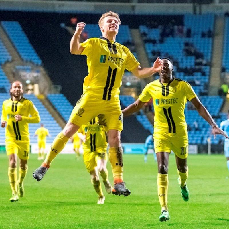 Burton Albion FC VIP Hospitality for 4