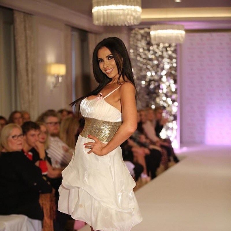 Shiny White Dress Worn by Francine Lewis