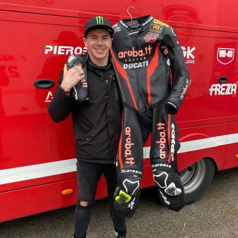 Ducati Aruba.it Team Race Suit Worn by Scott Redding