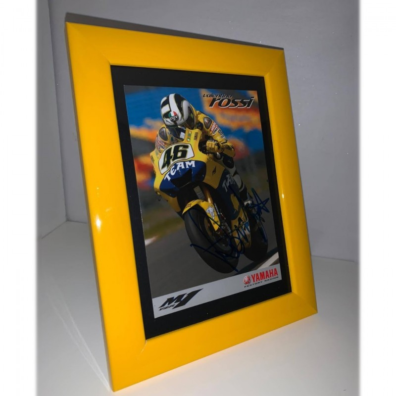 Valentino Rossi Signed Postcard
