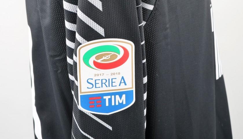 Skorupski's Bench-Worn Roma-Cagliari Shirt, Special Sponsor Telethon