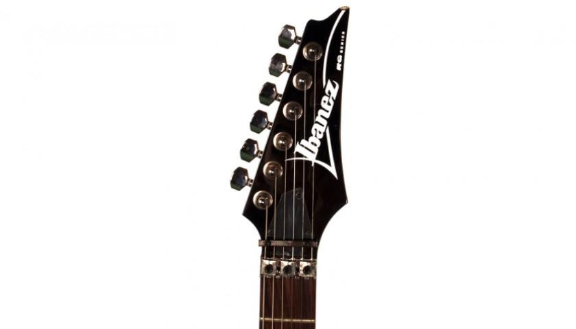 Signed Steve Vai Ibanez Guitar