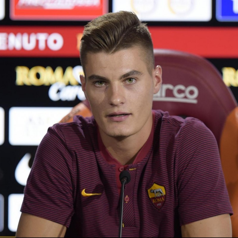 Schick's Official AS Roma Worn Polo Shirt, 2018/19 Season