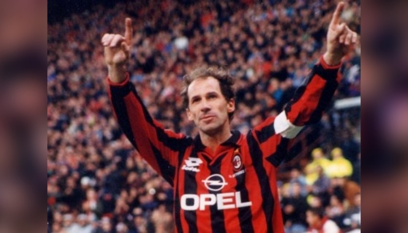 Franco Baresi's Worn Captain's Armband