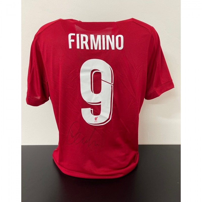 Firmino's Official Liverpool Signed Shirt, UEFA Super Cup 2019