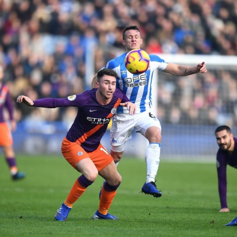 Laporte's Match Shirt, Huddersfield-Manchester City 2019