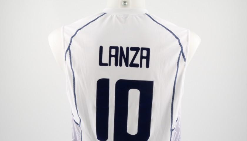 Match worn Lanza shirt, Rio 2016 - signed