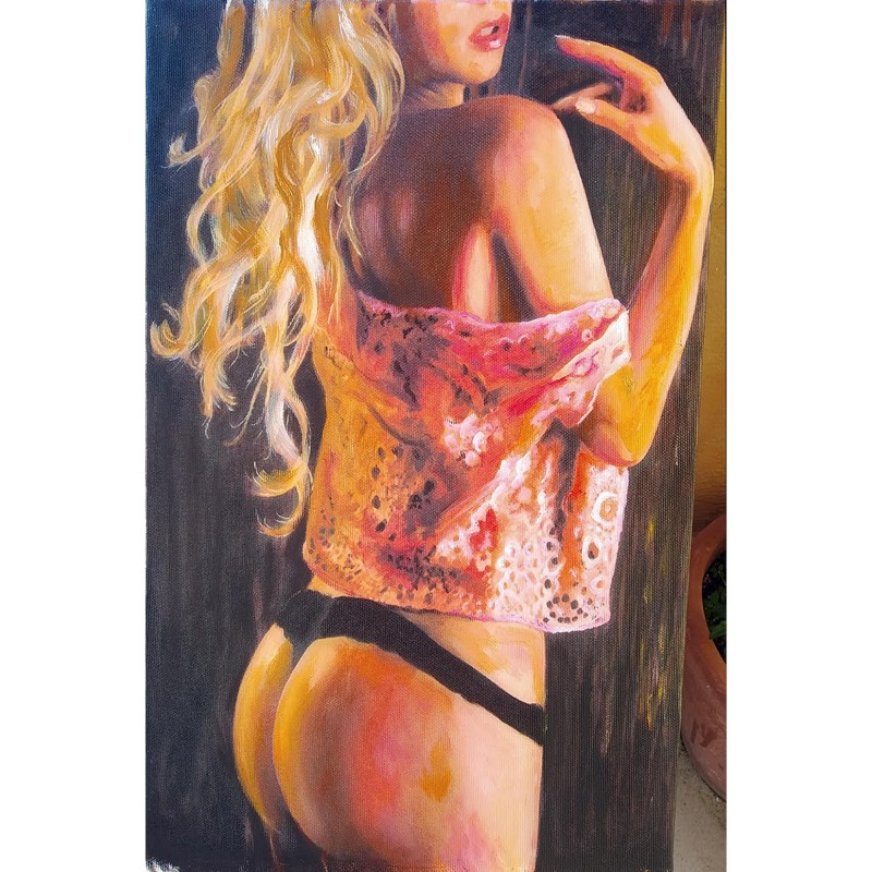 """""""Nudo con Merletti"""" by Antonello Arena"""