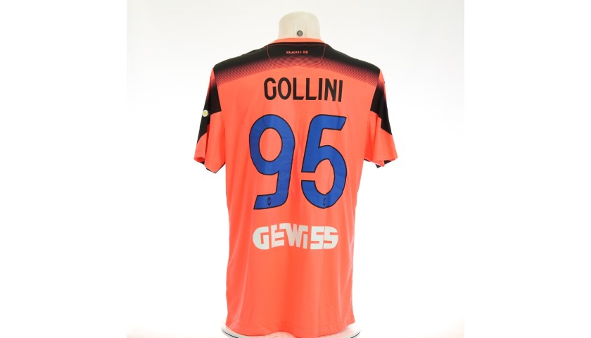 Gollini's Match-Issued Shirt, Hellas Verona-Atalanta 2020