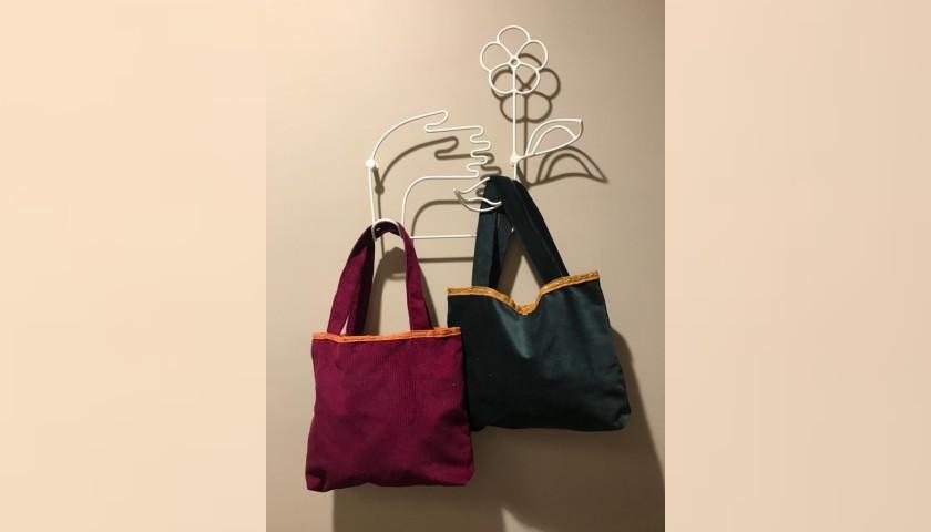 Laura Zagari Handmade Green Bag