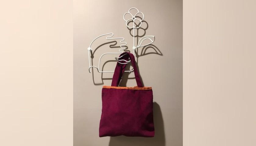 Laura Zagari Red Handmade Bag