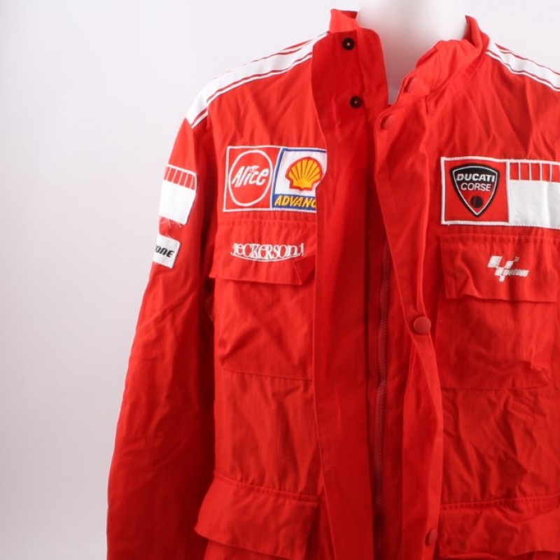 Official Ducati jacket, worn by Casey Stoner