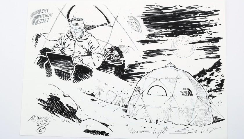 Original Illustration by Rob Dakar Meli - Kanchenjunga Expedition