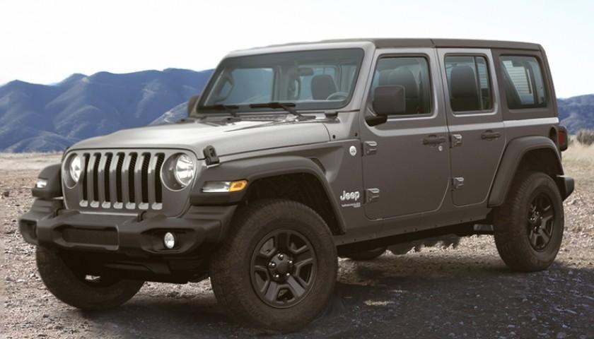 Win a 2020 Jeep Wrangler!