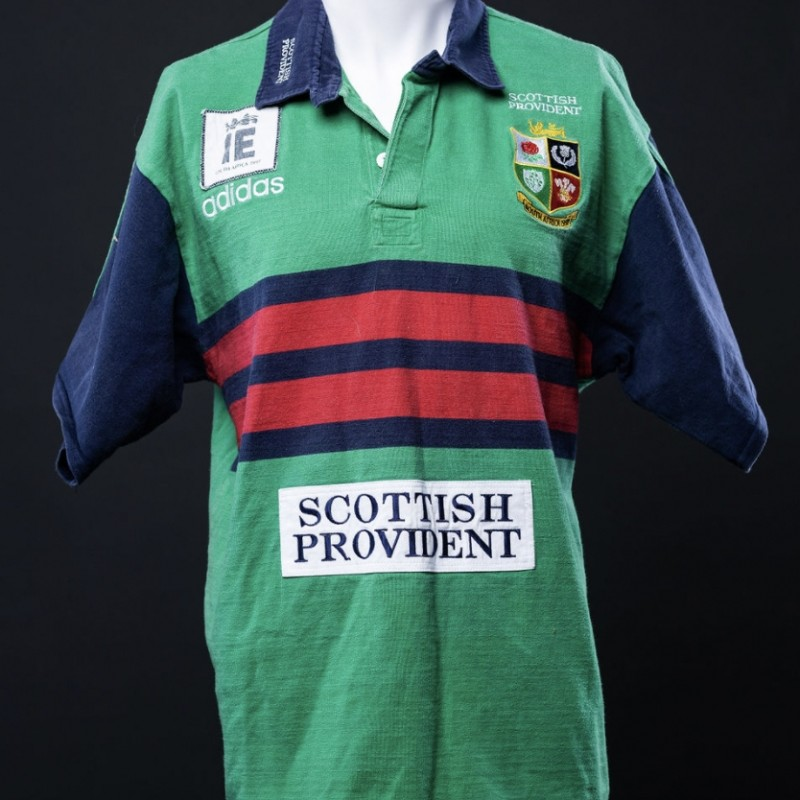 Ieuan Evans' Training Shirt and Socks from the 1997 Tour to South Africa