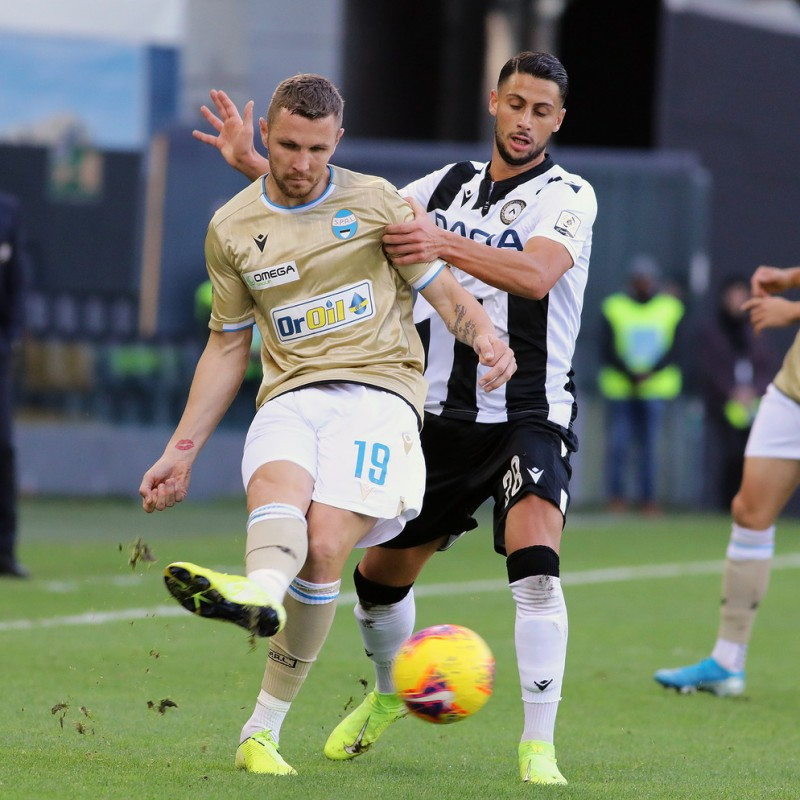 Mandragora's Special Worn Shirt, Udinese Calcio -SPAL