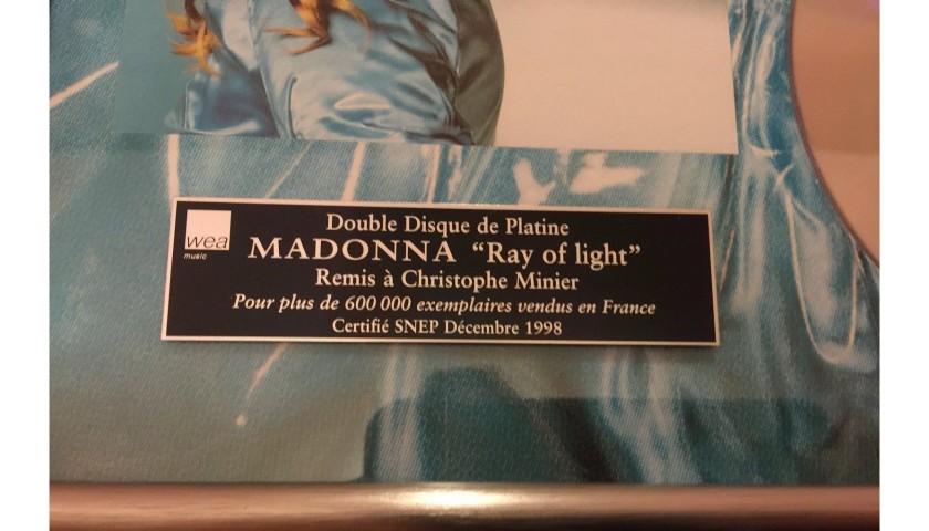 Madonna Platinum Disc Award
