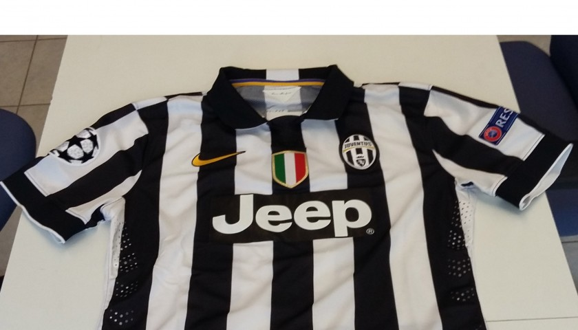 Pirlo match worn shirt from Juventus-Real Madrid, Champions League
