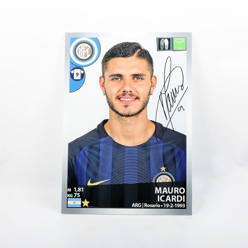 Icardi, Limited Edition Box and Signed Maxi Sticker