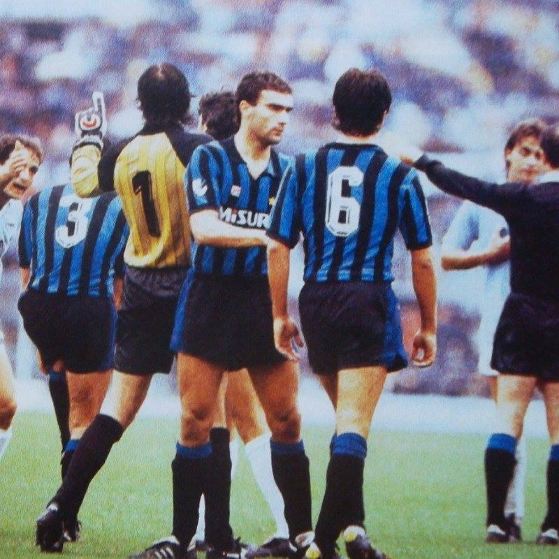 Muraro's Bench-Worn Shirt, Inter-Milan 1983/84