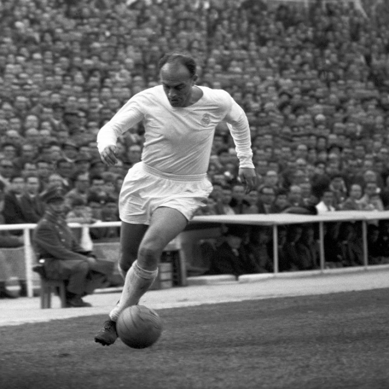Di Stefano's Real Madrid Match Shirt, 1960s