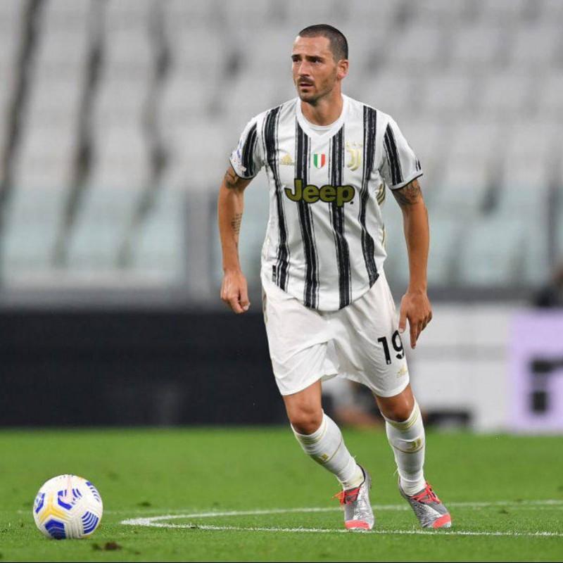 Bonucci's  Juventus Signed Match Shirt, 2020/21