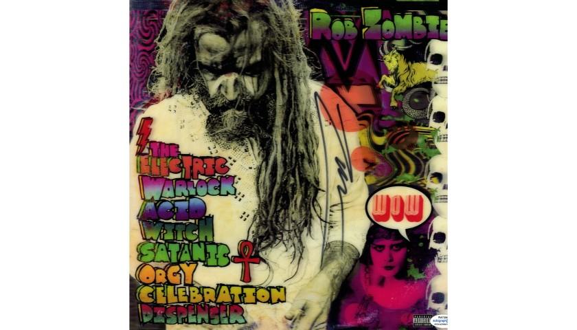 Rob Zombie Hand Signed Record Album