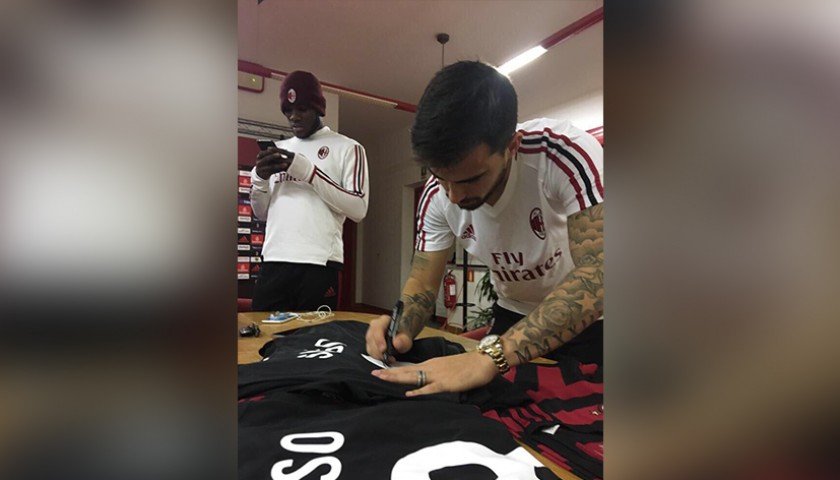 Suso's Official 2017/18 Shirt - Signed