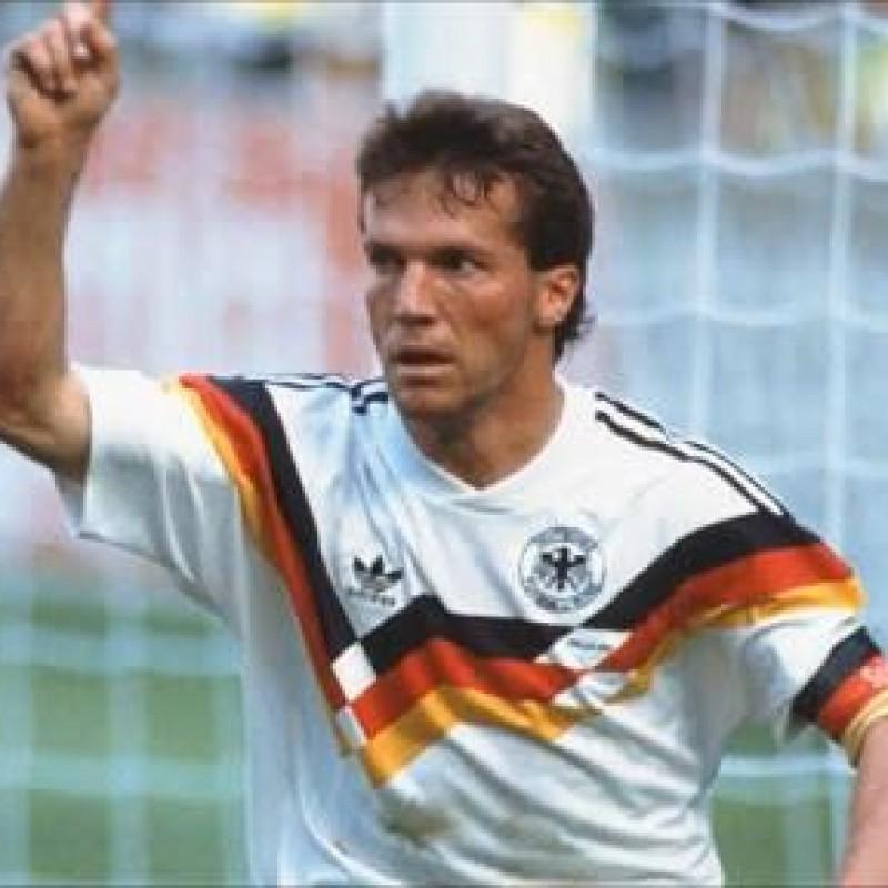 Matthaus' Germany Match Shirt, Italia '90 World Cup